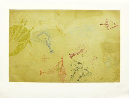 Aguafuerte Y Aguatinta Ponç - Homenaje a Marcel Duchamp