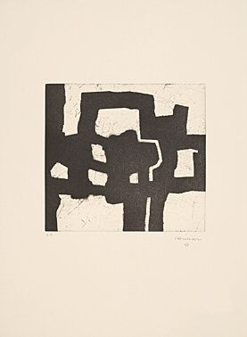 Aguafuerte Y Aguatinta Chillida - Homenaje a Picasso