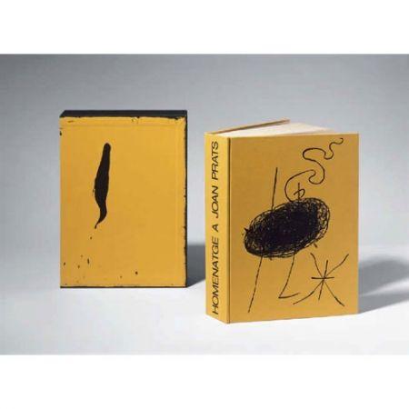 Libro Ilustrado Miró - Homenatge a Joan Prats
