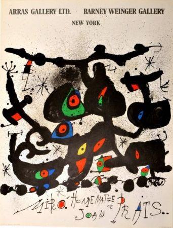 Cartel Miró - Homenatge a Joan Prats Arras Gallery