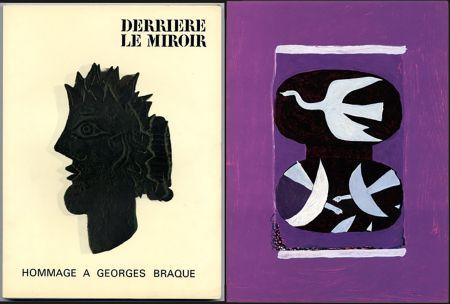 Libro Ilustrado Braque - HOMMAGE À GEORGES BRAQUE. Derrière le miroir N°144-145-146. Mai 1964.