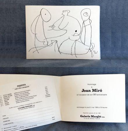 Sin Técnico Miró - HOMMAGE À JOAN MIRO à l'occasion de son 90e anniversaire (1983)