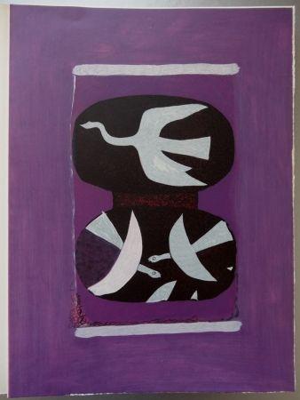 Grabado Braque - Hommage à Braque