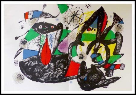 Litografía Miró - Hommage à Dorothea Tanning