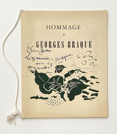 Litografía Braque - Hommage à Georges Braque