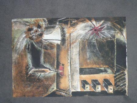 Litografía Toledo - Hommage à Joan Prats