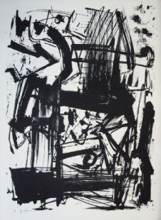 Litografía Vedova - Hommage à Joan Prats