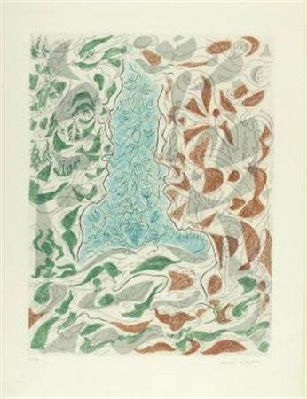 Aguafuerte Y Aguatinta Masson - Hommage à Picasso