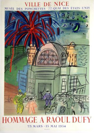 Litografía Dufy - Hommage à Raoul Dufy  Ville de Nice