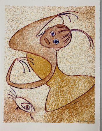 Litografía Ernst - Hommage à San Lazzaro