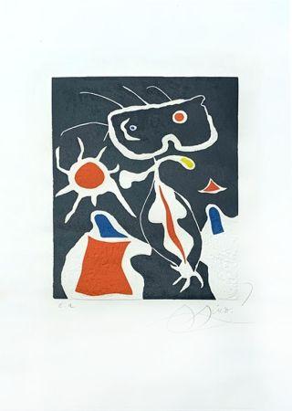 Grabado Miró - Hommage à San Lazzaro