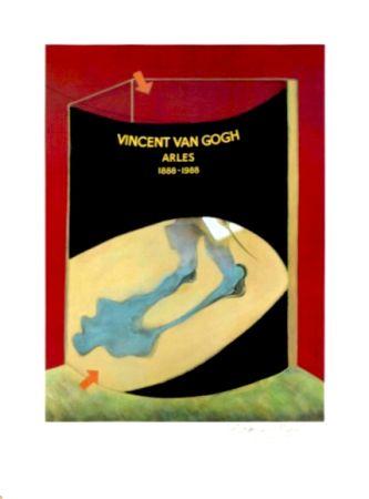 Litografía Bacon - Hommage à Van Gogh