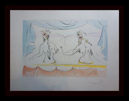 Grabado Dali - Hommage a Albrecht Durer Renaissance