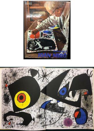 Libro Ilustrado Miró - HOMMAGE A JOAN MIRÓ - XXe Siècle - N° spécial 1972
