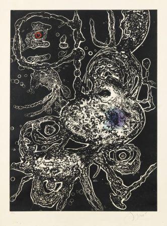 Carborundo Miró - Hommage a Joan Mirò