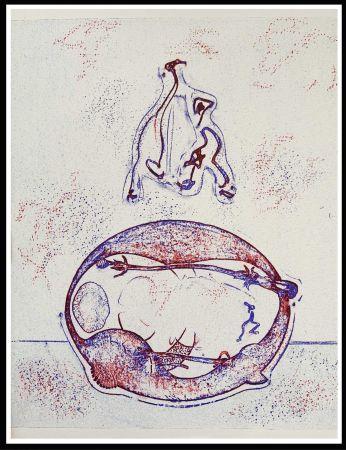 Litografía Ernst - HOMMAGE A MAX ERNST