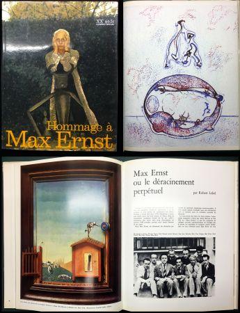 Libro Ilustrado Ernst - HOMMAGE A MAX ERNST - XXe Siècle - N° spécial 1971.