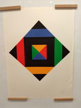 Litografía Bill - Hommage a Picasso
