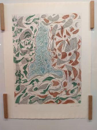 Litografía Masson - Hommage a Picasso
