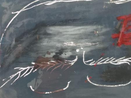 Litografía Tapies - Hommage a Picasso