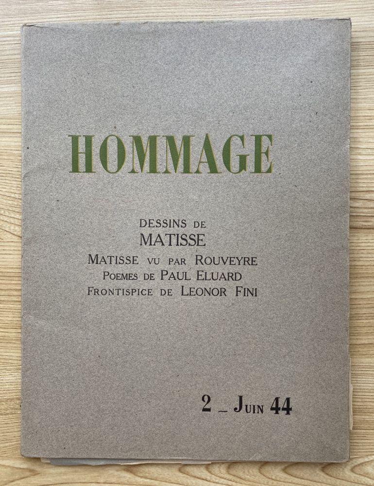 Fotografía Matisse - Hommage, Dessins de Matisse (