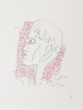 Litografía Cocteau - Hommage Jean Cocteau 17