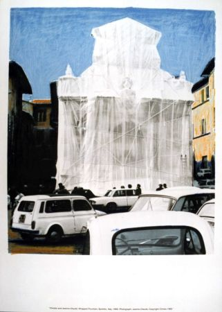 Serigrafía Christo & Jeanne-Claude - Hommage to Federico Garcia Lorca - complete set of 50 prints