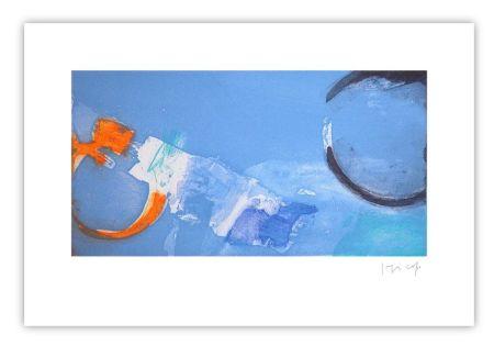Grabado Capa - Horizontal bleu