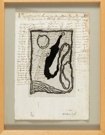 Aguatinta Alechinsky - Hors calendrier
