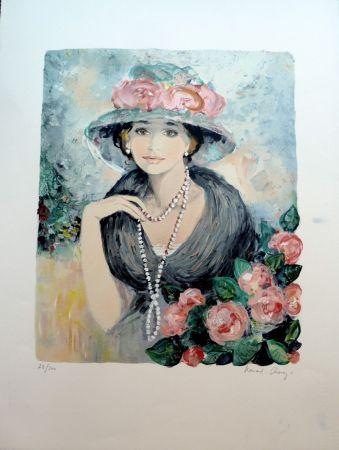 Litografía Charoy - Hortense
