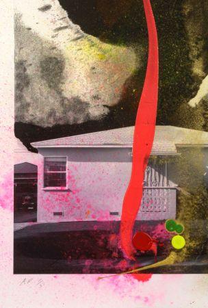 Litografía Goode - House Tornado (11521)