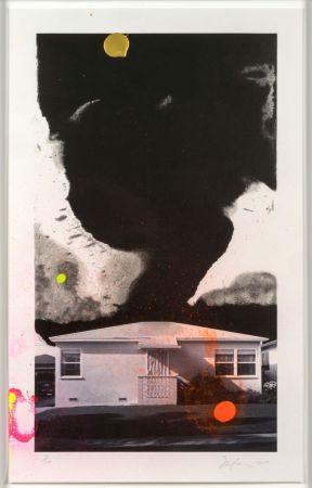 Litografía Goode - House Tornado (11532)