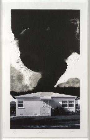 Litografía Goode - House Tornado (12790)