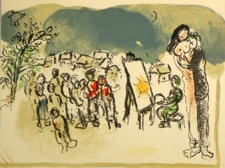 Litografía Chagall - (Humanisme actif)