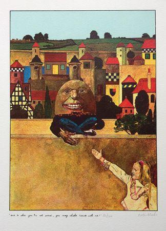 Serigrafía Blake - Humpty Dumpty...