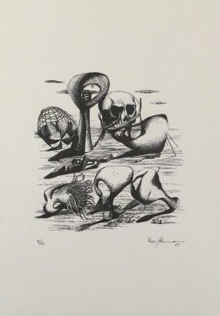 Litografía Zimmermann - Hundert Jahre später