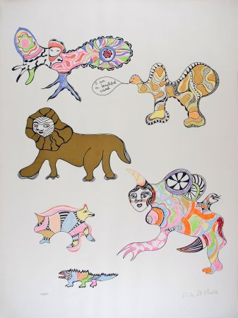 Serigrafía De Saint Phalle - I am a beautiful camel (Nana Power)