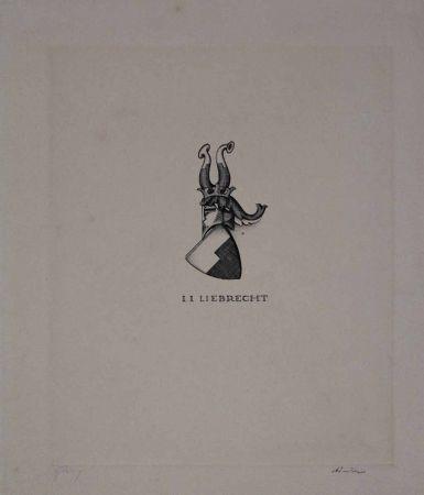 Aguafuerte Friedrich - I. I. Liebrecht
