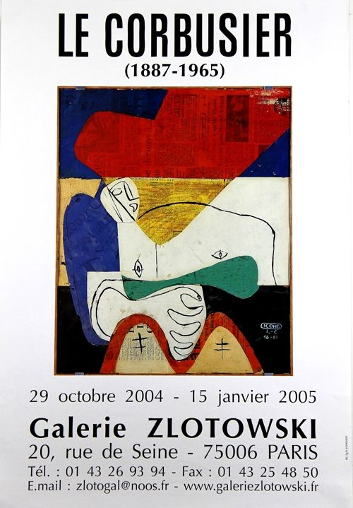 Offset Le Corbusier - Icone Galerie Zlotowki