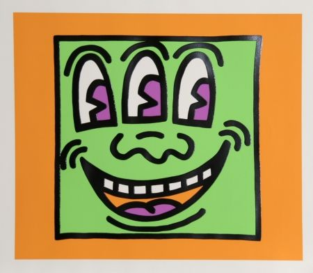Serigrafía Haring - Icons - Three Eyes