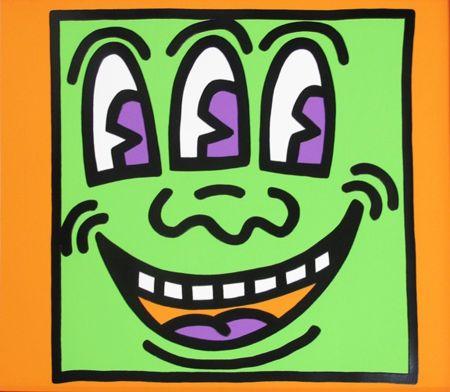Serigrafía Haring - Icons (E) - Three Eyed Man