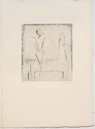 Grabado Marini - Idea del Cavaliere, Selezione II, Plate I