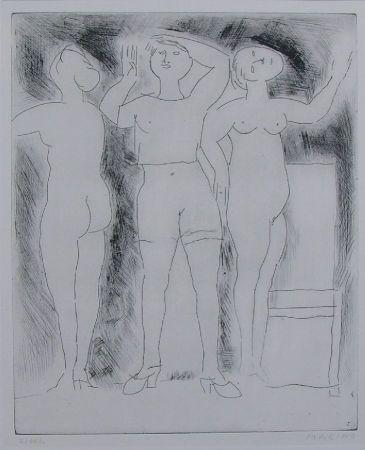 Aguafuerte Marini - Idea della verginità