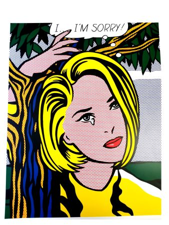 Litografía Lichtenstein - I...I'm sorry