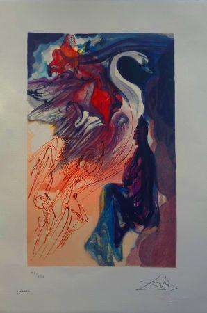 Litografía Dali - Il Cigno