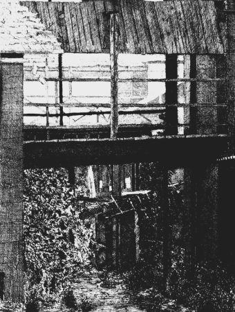 Aguafuerte Cacciarini - Il ponte di legno