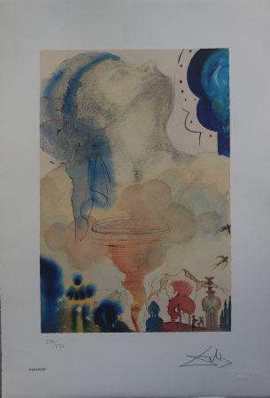 Litografía Dali - Il Tornado
