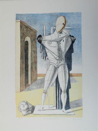 Litografía De Chirico - Il trovatore solitario
