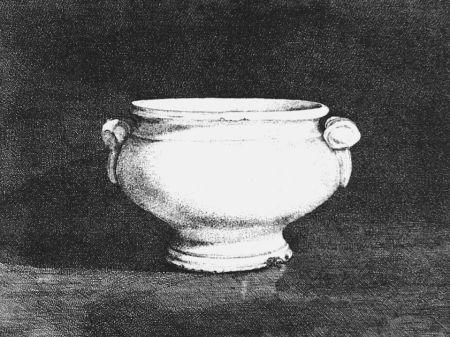 Aguafuerte Cacciarini - Il vaso bianco