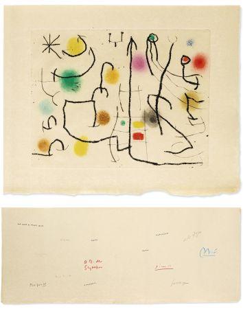 Libro Ilustrado Miró - ILIAZD: HOMMAGE À ROGER LACOURIÈRE [Picasso, Miro, Giacometti...] 1968.